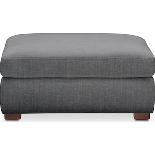 Asher Ottoman- Cumulus in Curious Charcoal