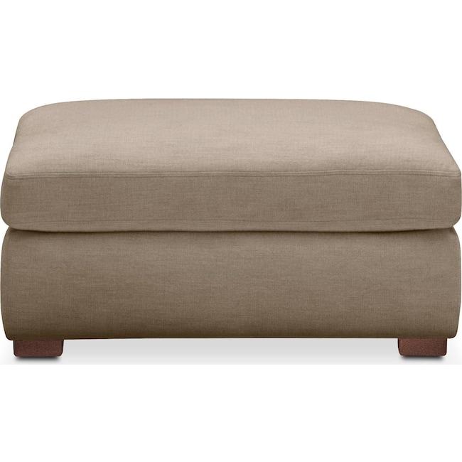 Living Room Furniture - Asher Ottoman- Cumulus in Statley L Mondo