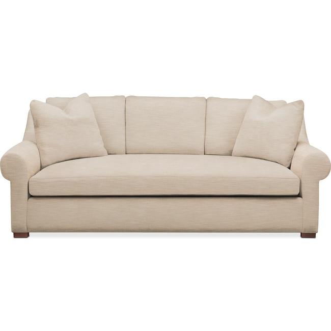 Living Room Furniture - Asher Sofa- Cumulus in Dudley Buff