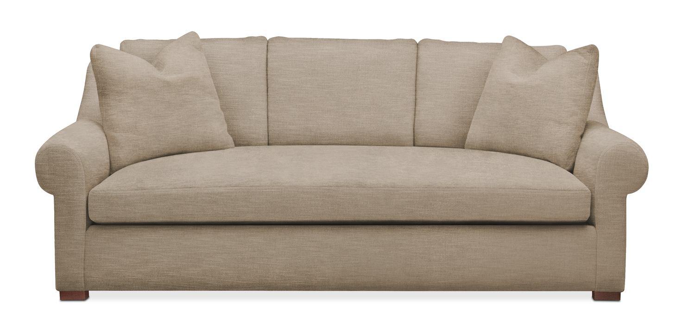 Exceptional Living Room Furniture   Asher Sofa  Cumulus In Dudley Burlap