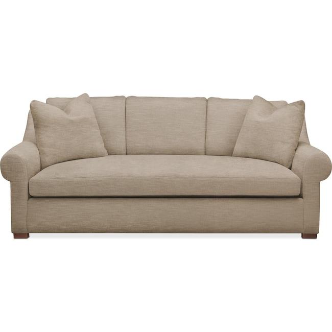 Living Room Furniture - Asher Sofa- Cumulus in Dudley Burlap