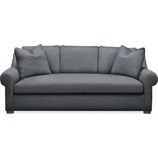 Asher Sofa- Cumulus in Depalma Charcoal