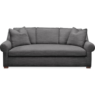 Asher Sofa- Cumulus in Milford II Charcoal