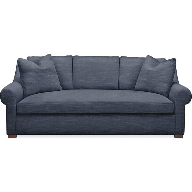 Living Room Furniture - Asher Sofa- Cumulus in Curious Eclipse