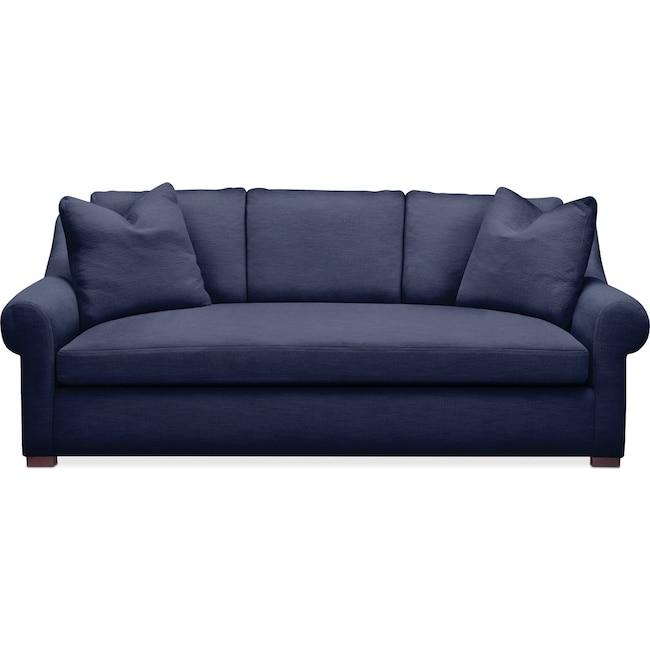 Living Room Furniture - Asher Sofa- Cumulus in Oakley III Ink