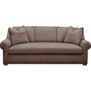 Asher Sofa- Cumulus in Oakley III Java