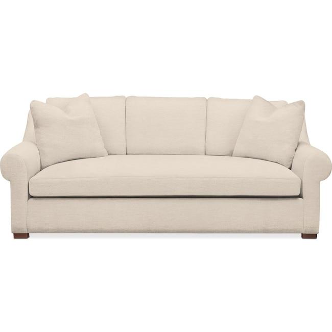 Living Room Furniture - Asher Sofa- Cumulus in Curious Pearl