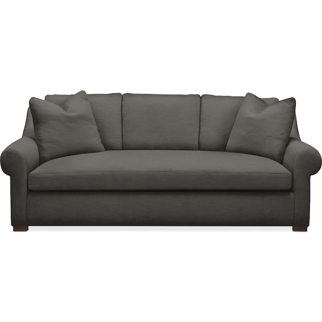 Living Room Furniture - Asher Sofa- Cumulus in Statley L Sterling