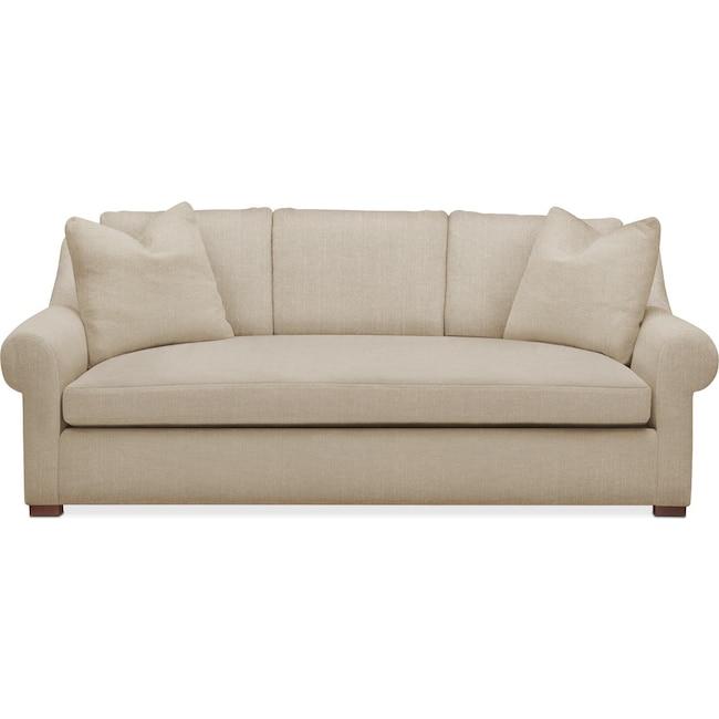 Living Room Furniture - Asher Sofa- Cumulus in Depalma Taupe