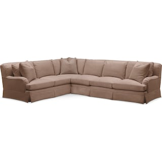 Campbell 2 Pc. Sectional with Left Arm Facing Sofa- Cumulus in Abington TW Antler