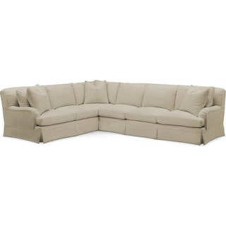 Campbell 2 Pc. Sectional with Left Arm Facing Sofa- Cumulus in Abington TW Barley