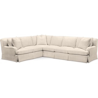 Campbell 2 Pc. Sectional with Left Arm Facing Sofa- Cumulus in Curious Pearl