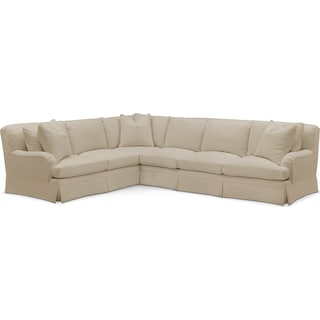 Campbell 2 Pc. Sectional with Left Arm Facing Sofa- Cumulus in Depalma Taupe