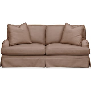 Campbell Apartment Sofa- Cumulus in Abington TW Antler