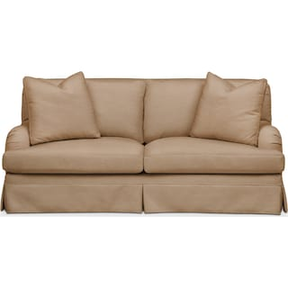 Campbell Apartment Sofa- Cumulus in Hugo Camel