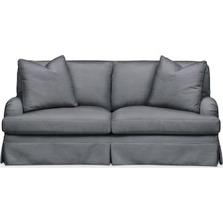 Campbell Apartment Sofa- Cumulus in Milford II Charcoal