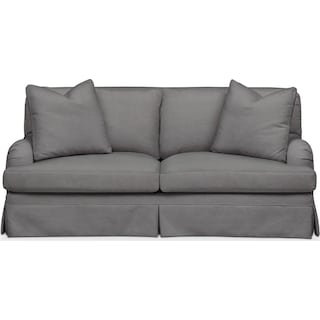 Campbell Apartment Sofa- Cumulus in Hugo Graphite