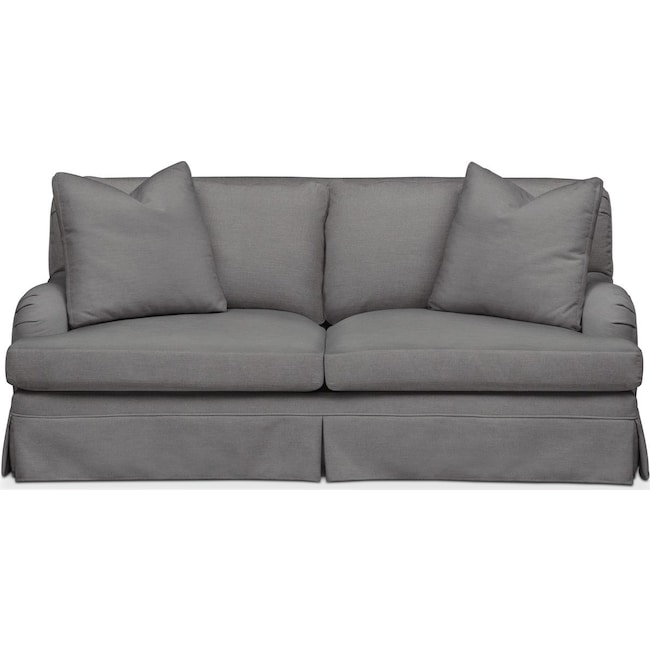 Living Room Furniture - Campbell Apartment Sofa- Cumulus in Hugo Graphite