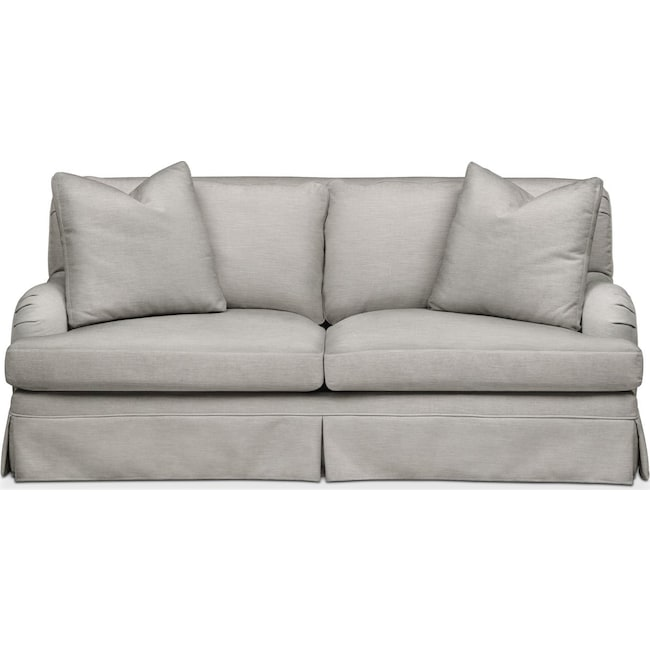 Living Room Furniture - Campbell Apartment Sofa- Cumulus in Dudley Gray