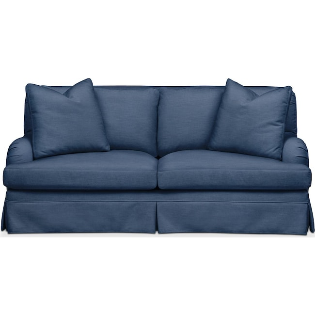 Living Room Furniture - Campbell Apartment Sofa- Cumulus in Hugo Indigo