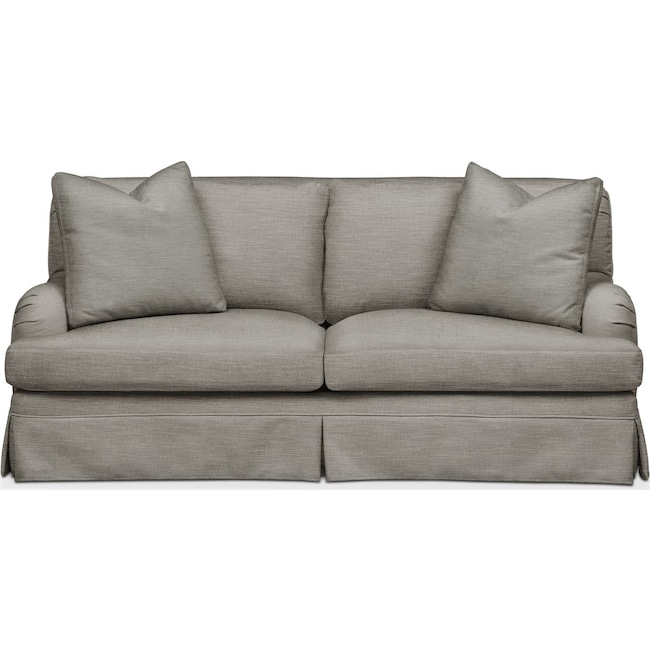 Living Room Furniture - Campbell Apartment Sofa- Cumulus in Victory Smoke