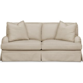 Campbell Apartment Sofa- Cumulus in Depalma Taupe