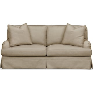 Campbell Apartment Sofa- Cumulus in Milford II Toast