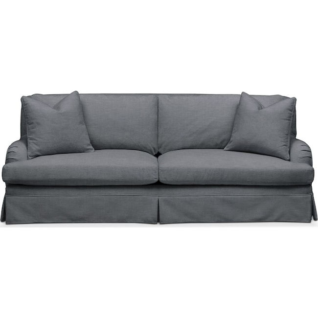 Living Room Furniture - Campbell Sofa- Cumulus in Curious Charcoal