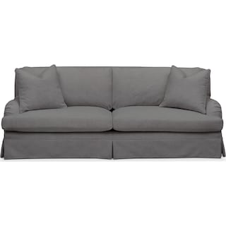 Campbell Sofa- Cumulus in Hugo Graphite