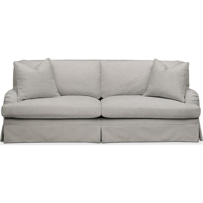 Living Room Furniture - Campbell Sofa- Cumulus in Dudley Gray
