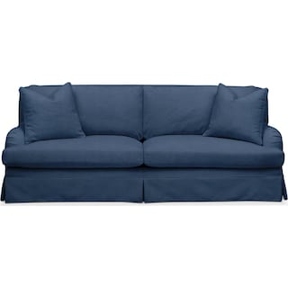 Campbell Sofa- Cumulus in Hugo Indigo