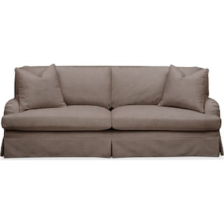 Campbell Sofa- Cumulus in Hugo Mocha