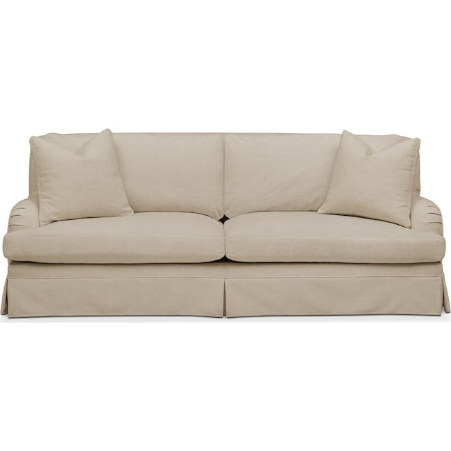 Living Room Furniture - Campbell Sofa- Cumulus in Depalma Taupe