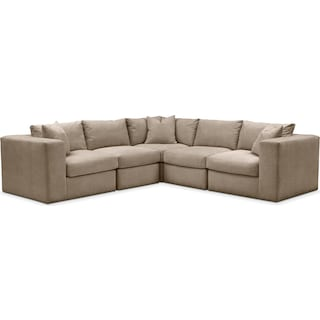 Collin 5 Pc. Sectional - Cumulus in Statley L Mondo