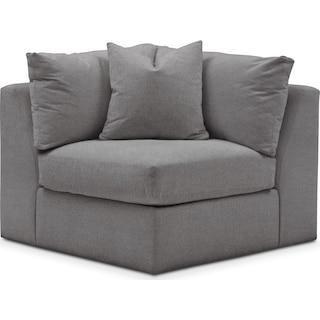 Collin Cumulus Corner Chair - Hugo Graphite
