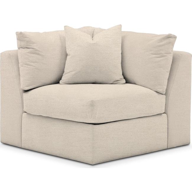 Living Room Furniture - Collin Corner Chair- Cumulus in Curious Pearl