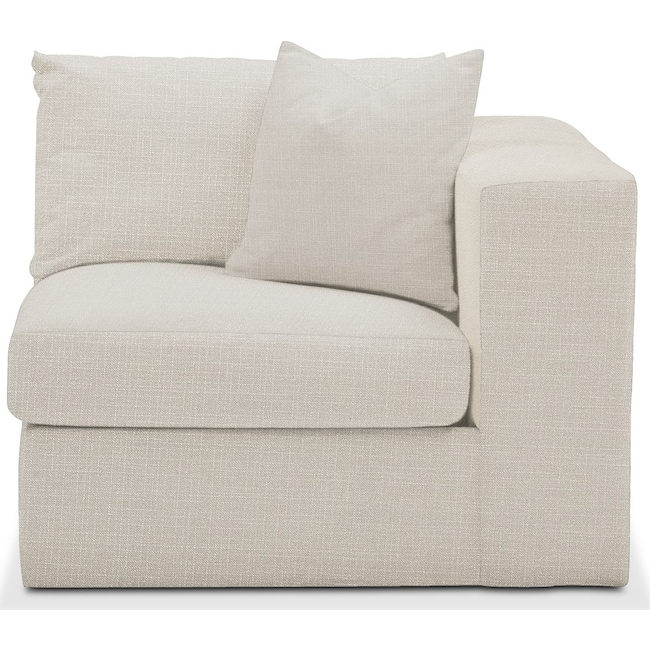 Living Room Furniture - Collin Right Arm Facing Chair- Cumulus in Victory Ivory