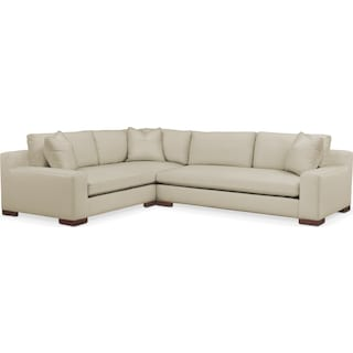 Ethan 2 Pc. Sectional with Left Arm Facing Sofa- Cumulus in Abington TW Barley