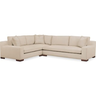 Ethan 2 Pc. Sectional with Left Arm Facing Sofa- Cumulus in Dudley Buff