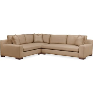Ethan 2 Pc. Sectional with Left Arm Facing Sofa- Cumulus in Hugo Camel
