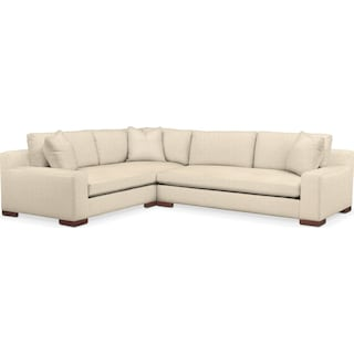Ethan 2 Pc. Sectional with Left Arm Facing Sofa- Cumulus in Anders Cloud