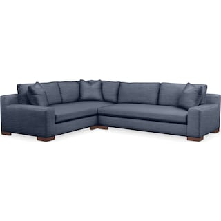 Ethan 2 Pc. Sectional with Left Arm Facing Sofa- Cumulus in Curious Eclipse