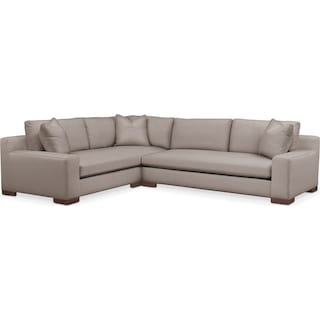 Ethan 2 Pc. Sectional with Left Arm Facing Sofa- Cumulus in Abington TW Fog