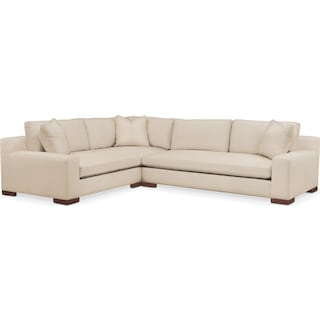Ethan 2 Pc. Sectional with Left Arm Facing Sofa- Cumulus in Anders Ivory