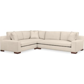 Ethan 2 Pc. Sectional with Left Arm Facing Sofa- Cumulus in Curious Pearl