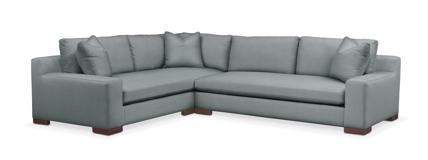 Ethan 2 Pc. Sectional With Left Arm Facing Sofa- Cumulus