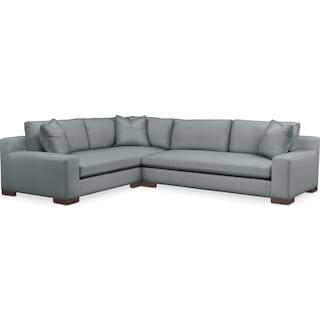 Ethan 2 Pc. Sectional with Left Arm Facing Sofa- Cumulus in Abington TW Seven Seas