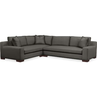 Ethan 2 Pc. Sectional with Left Arm Facing Sofa- Cumulus in Statley L Sterling
