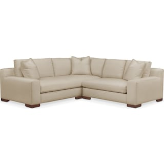 Ethan 2 Pc. Sectional with Right Arm Facing Loveseat- Cumulus in Depalma Taupe