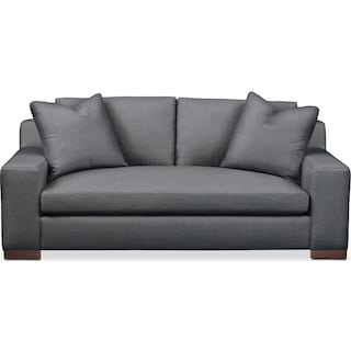 Ethan Apartment Sofa- Cumulus in Depalma Charcoal